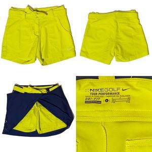 Nike golf convertible skirt and shorts size 4